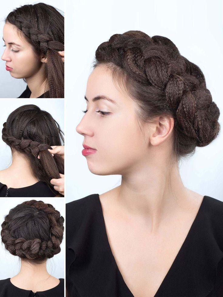 Frisuren selber machen: Step by Step | Geflochtene ...