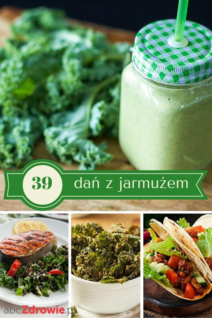 Jarmuż to źródło błonnika, witamin A, C i E oraz żelaza. Warto wprowadzić go do swojej diety. Sprawdźcie pomysły na 39 dań z wykorzystaniem jarmużu! #jarmuż #superfoods #daniazjarmużem #diet #cale #kurlycale #abcZdrowie