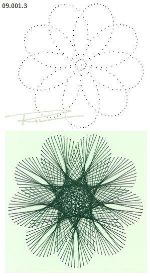 Rit Vanschoonbeek 09.001.3 borduren op papier
