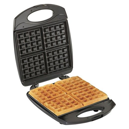 Hamilton Beach Belgian Style Waffle Maker - 26020                                                                                                                                                                                                                                                                                                                                                 • Nonstick easy-clean grids<br>• Indicator lights tell you when power is on and when to...