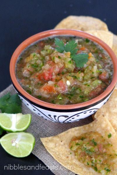 Salsa Botanera recipe for #SalsaSaturday | Salsa Saturday #SalsaSaturday | Pinterest | Salsa, Mexican food recipes and Recipes