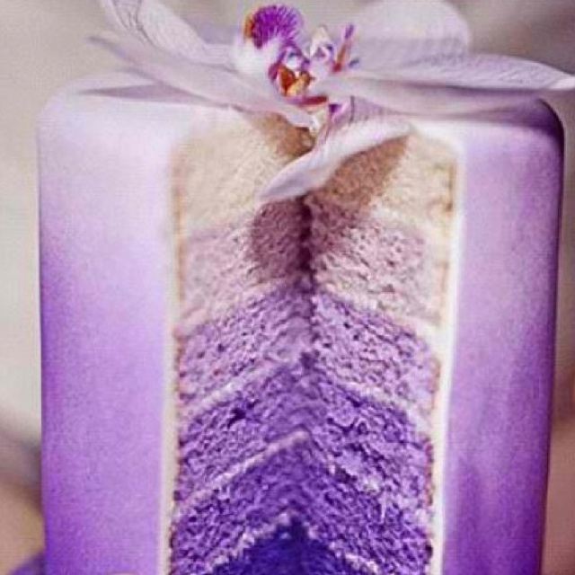 Jessica: Purple Ombre, Layered Cakes, Ombre Cakes, Idea, Shades Of Purple, Color, Wedding Cakes, Purple Cakes, Purple Weddings Cakes