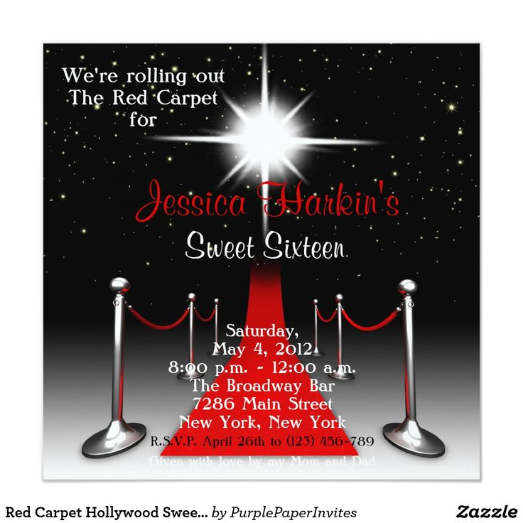Best 25+ Hollywood sweet 16 ideas on Pinterest | Red carpet party ...