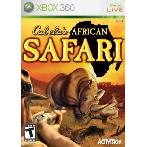 Cabela's African Safari lets you experience the challenge of hunting African Big Game beyond belief and the danger of the Feared Big Five - Lions, Leopards, Elephants, Rhinos and Cape Buffalo. Live the adventure of a lifetime, as you go on 40 safari hunts for a variety of dangerous game.
