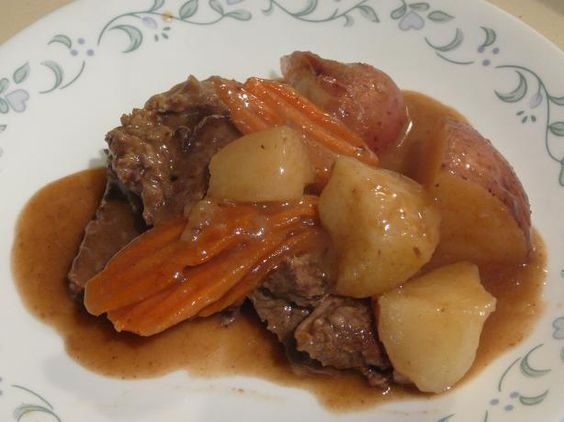 Pass It on Pot Roast from Food.com: This is another great recipe from the Patti LaBelle cookbook. It is simple, easy and great tasting comfort food. My Dinner for tonight!