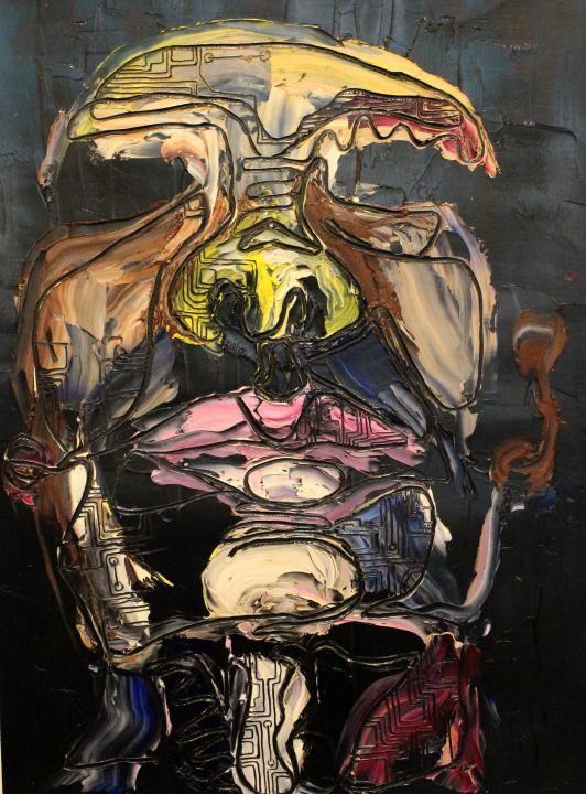 2014 -- Julia Rogers-- oil painting