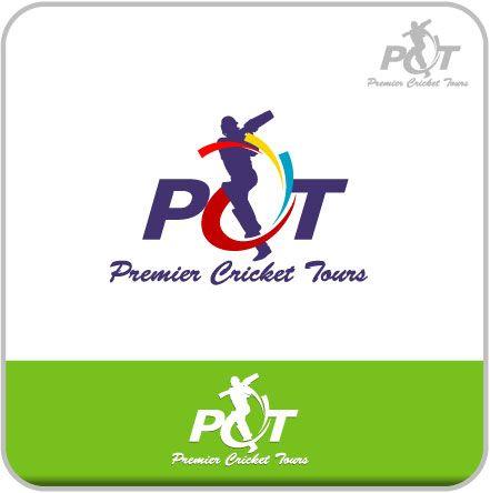 Logo Design by kreative GURU for Cricket Tours Company #cricket #logo #design #DesignCrowd #sport