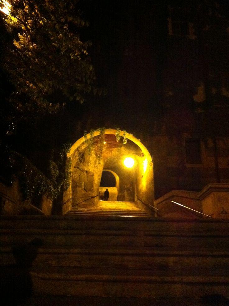 Scalinata San Pietro in Vincoli - Rione Monti - Rome (Italy)