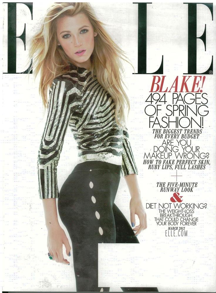 Elle USA March 2012