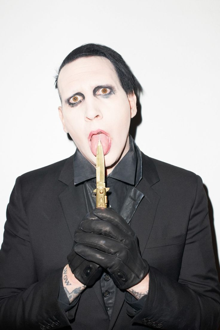 Terry Richardson Famous Photos Marilyn Manson by Terr...