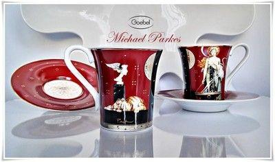 Filiżanki espresso 2szt. M.Parkes Goebel Rosenthal