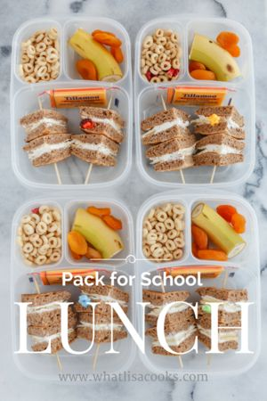 Tons of awesome and easy packed lunch ideas! #EasyLunchboxes