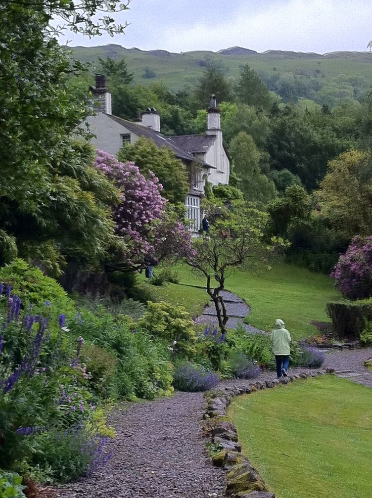 Rydal Mount, Lake District, England Home of the poet William Wordsworth Displays of his work, portraits and Gardens