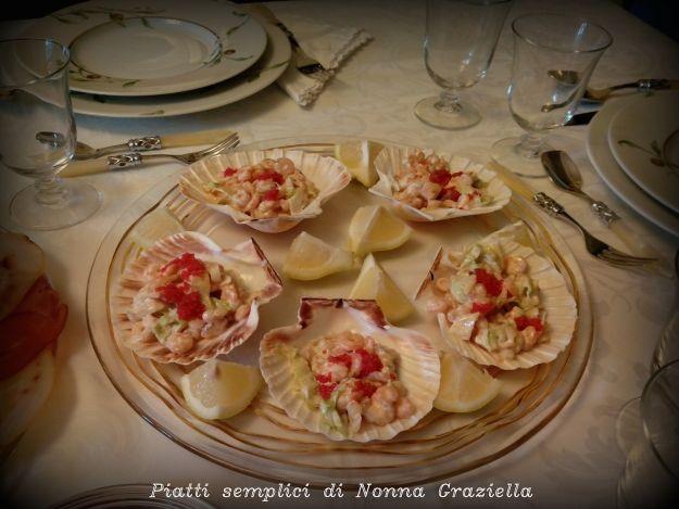 medaglioni di verdura con salmone affumicato