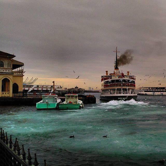 A stormy day - winter time Kadıköy / İstanbul
