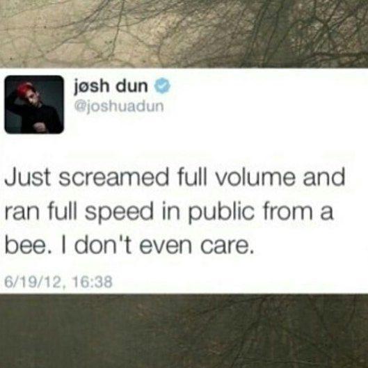 Josh Dun is a cinnamon roll