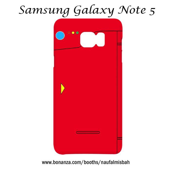 Pokemon Pokedex Samsung Galaxy Note 5 Case Cover Wrap Around