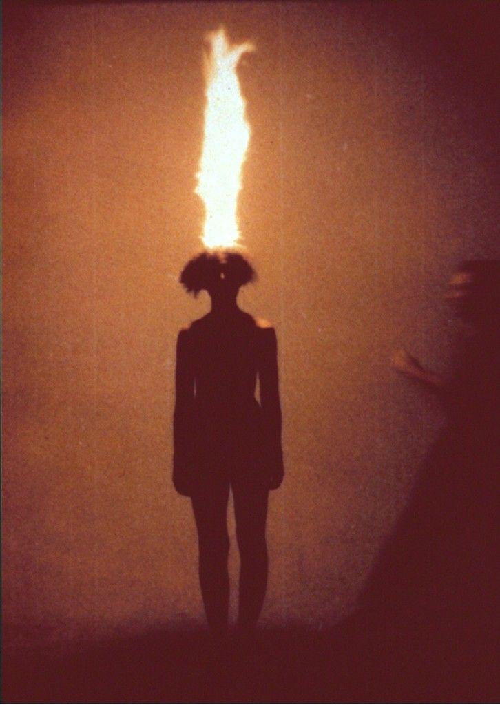 Jana Sterbak, Artist as combustible, 1986, Barbara Gross