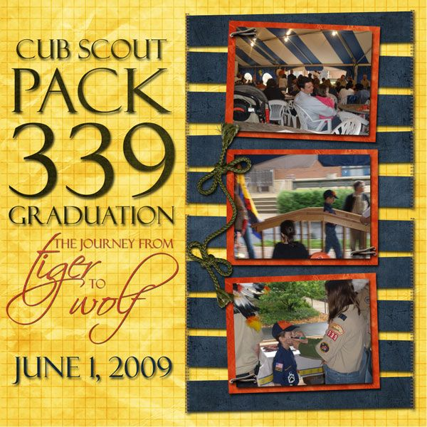 Boy Scout Scrapbook Pages Google Search Scrapbook Layouts Cub