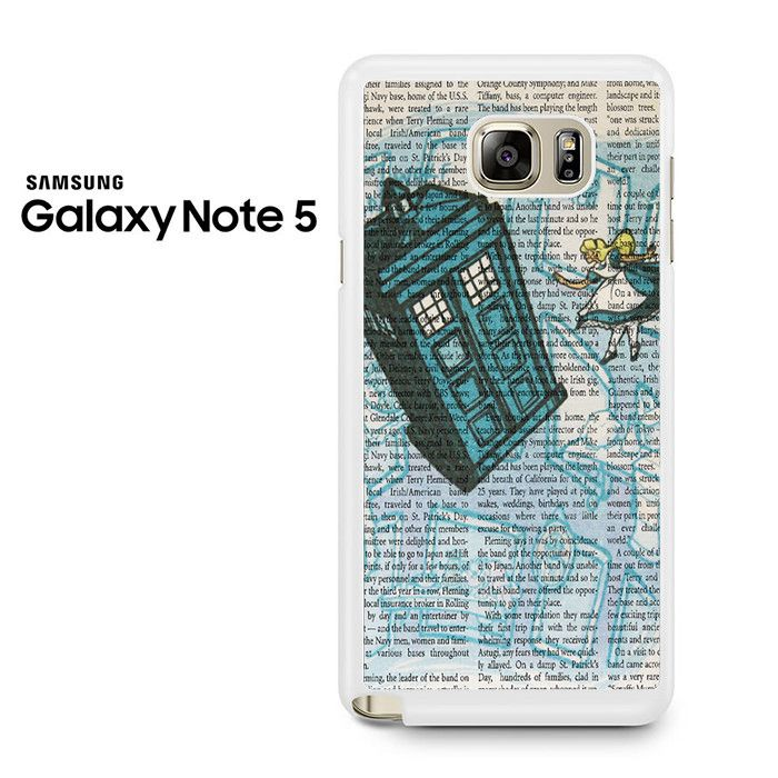 Alice In Wonderland, Tardis Doctor Who Galaxy Note 5 Case