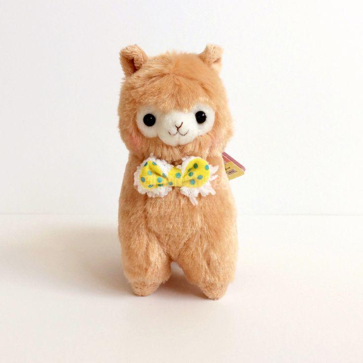 AMUSE Mokomoko Ribbon Alpacasso Mocha Brown Boy (Ballchain 12cm) Alpaca Plush  in Collectibles, Animation Art & Characters, Japanese, Anime, Other Anime Collectibles | eBay