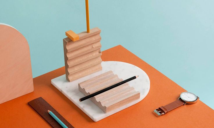 Blocchi is an elegant little desk organizer from Dowel Jones, a Melbourne-based studio looking to design objects with simplicity and beauty.