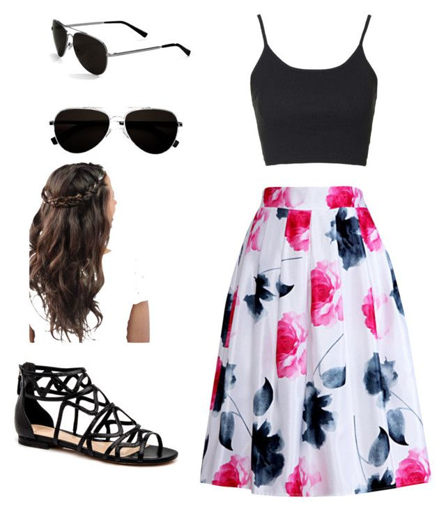 beach with friends by megan-osh on Polyvore featuring polyvore fashion style Topshop Relaxfeel Calvin Klein clothing
