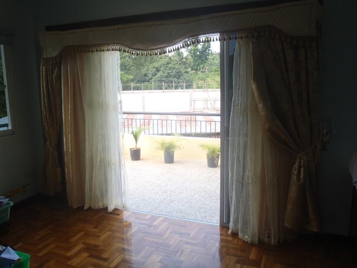 Family area with door to balcony