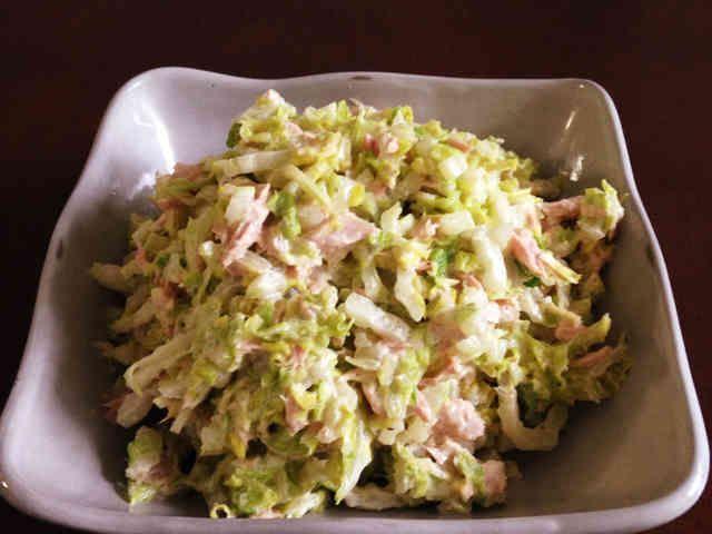 簡単すぎ!白菜とツナのサラダの画像