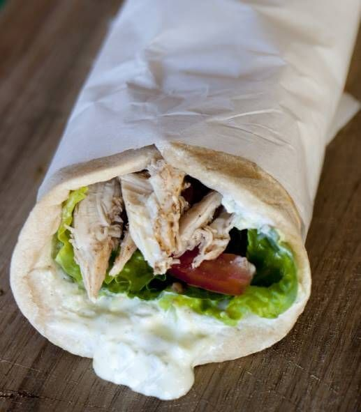 skinnymixer's Pita Bread Wraps