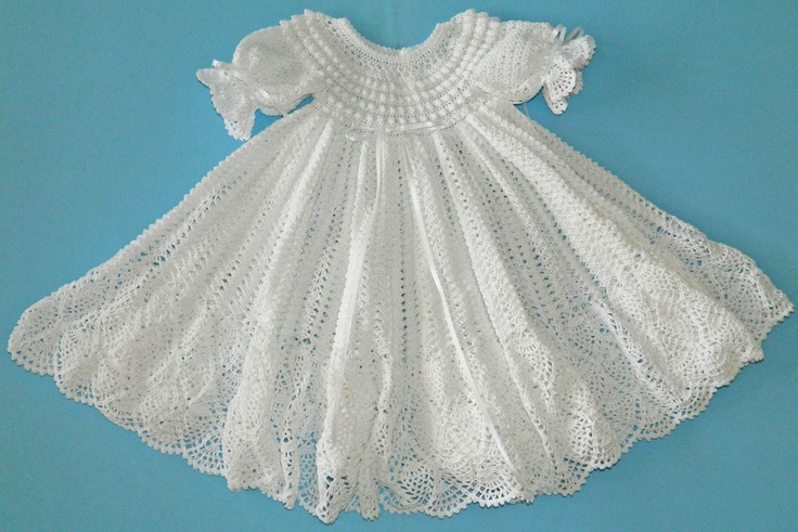 White Christening / Blessing Gown -  Baby Dress - READY TO SHIP -  13079-G. $90.00, via Etsy.