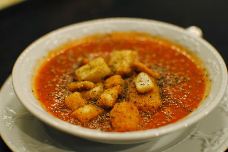 Make It Like Momou: Memories and Roasted Garlic and Basil Tomato Soup