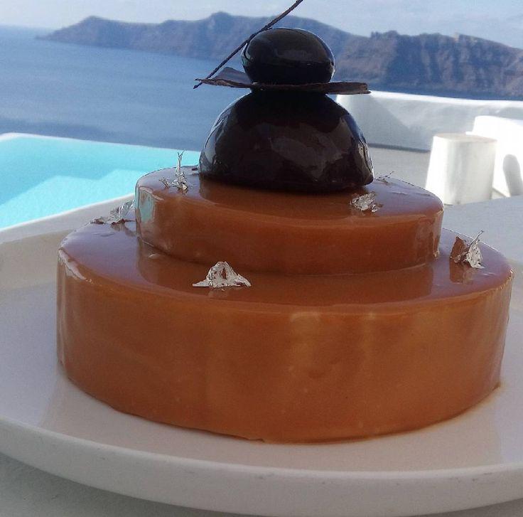 Brownies#cremeux#chocolate#caramel#last#season#cake