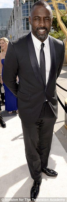 Idris Elba at the 2014 Emmys http://dailym.ai/1lufdYb