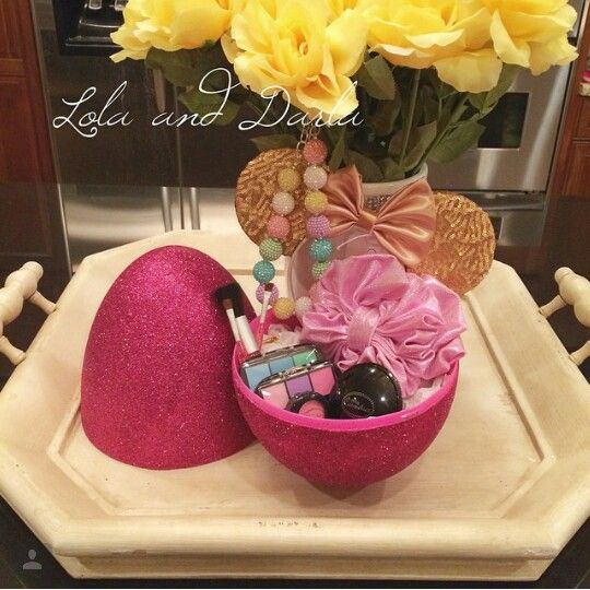 Great Idea For Non Candy Girls Easter Gift Fake Makeup