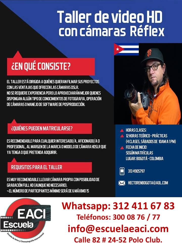 Taller de Video HD con Cámara Reflex