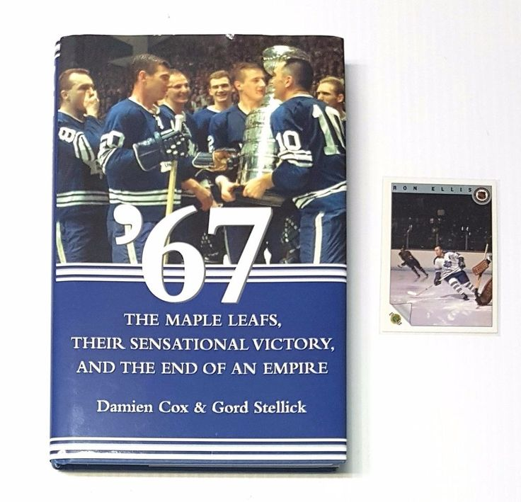 '67: The Maple Leafs... Signed Book and Ron Ellis Ultimate Trading Card #34 | eBay
