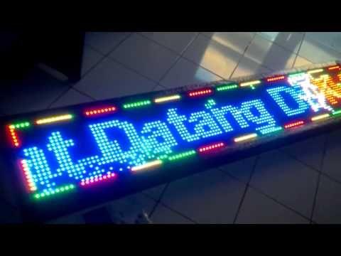 Running Text Full Colour Bekasi,Bandung,Medan