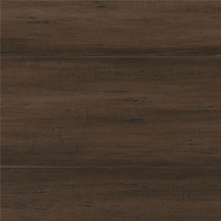 Handscraped Strand Woven Mushroom 3/8 in. T x 5-1/8 in. W x 72-7/8 in. L Engineered Bamboo Flooring (25.88 sq. ft./case), Black Grey