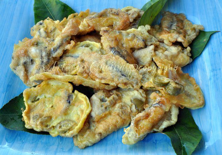 #Alici impanate e fritte con olive #ricetta facile #menu di pesce