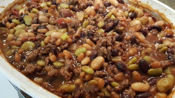 Auntie Carols picnic beans