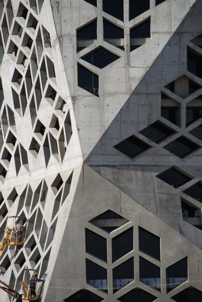 In Progress: Bicentennial Civic Center / Lucio Morini + GGMPU (2): Building, Pattern, Geometric, Architecture Ideas, Civic Center, Architecture Design