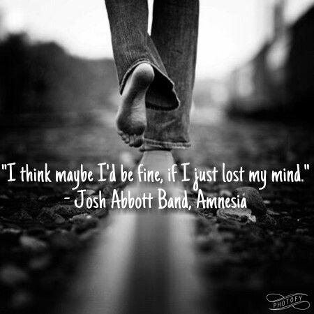 Amnesia - Josh Abbott Band