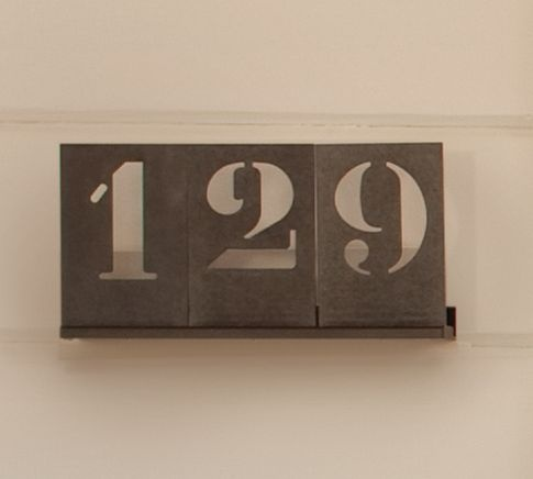 35 Best Images About Stylish House Numbers On