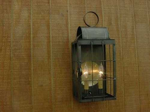 12 best images about primitive lighting on pinterest for Early american outdoor lighting