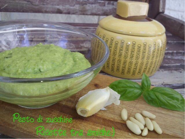 Pesto+di+zucchine+bimby