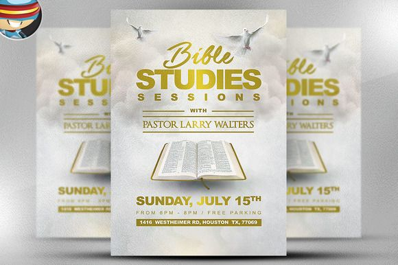 The Bible Study Flyer Template | Flyer And Resume Templates