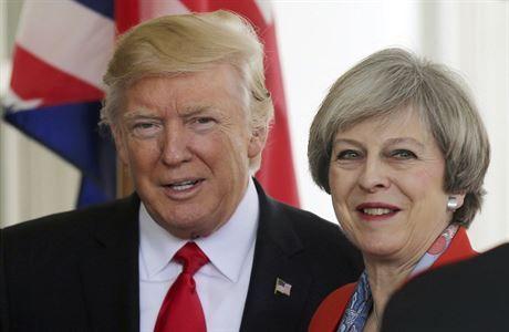 Petici proti Trumpově antiimigrační politice podepsaly dva miliony Britů