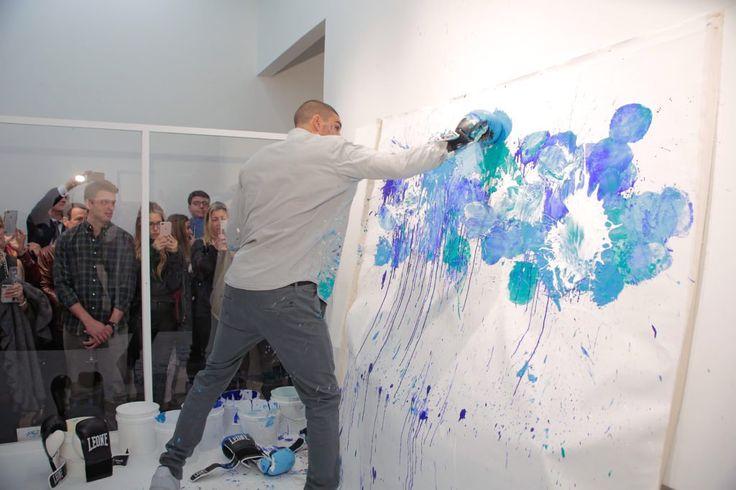 artnet Asks: Artist Omar Hassan and Boxing With Paint   artnet News