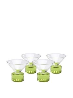 46% OFF Chisel Coupe, Green, Set of 4